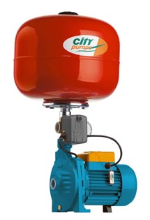 City IC50 pump with 25 litre tank above
